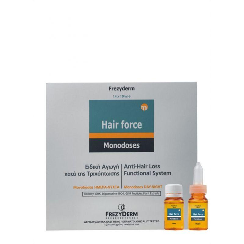 Frezyderm Hair Force Monodose Day/Night 14x10 ml - Frezyderm