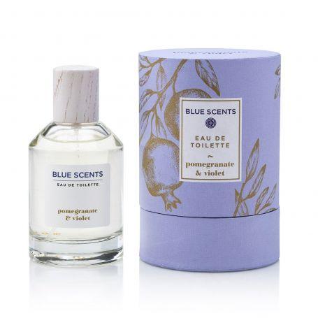 Eau De Toilette Pomegranate & Violet – 100ml - Blue Scents