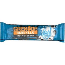 Grenade Card Killa Cookies - Cream Μπάρα Υψηλής Πρωτείνης 60gr-pharmacystories