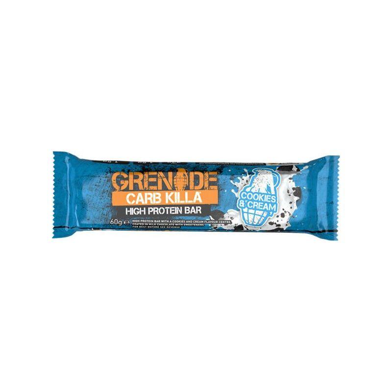 Grenade Card Killa Cookies - Cream Μπάρα Υψηλής Πρωτείνης 60gr - Grenade