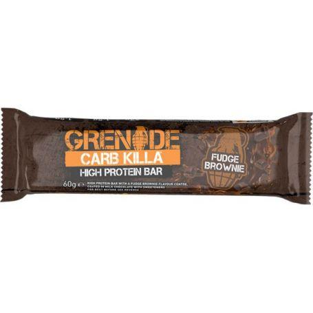 Grenade Card Killa Fudge Brownie Μπάρα Υψηλής Πρωτεΐνης 60gr-pharmacystories