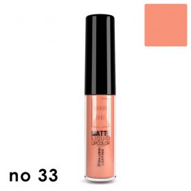 Matte Liquid Lipcolor - No 33 Lavish Care 6ml -pharmacystories