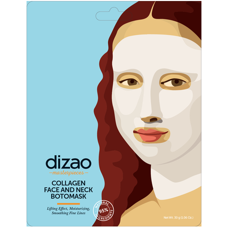 Dizao Collagen Face and Neck Botomask 1τεμ. - Dizao Natural