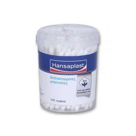 Hansaplast Βιοδιασπώμενες Μπατονέτες 100τμχ -pharmacystories