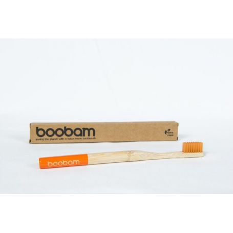Boobambrush Οδοντόβουρτσα Πορτοκαλί -PharmacyStories