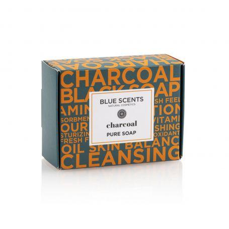Σαπούνι Charcoal 135gr Blue Scents-pharmacystories