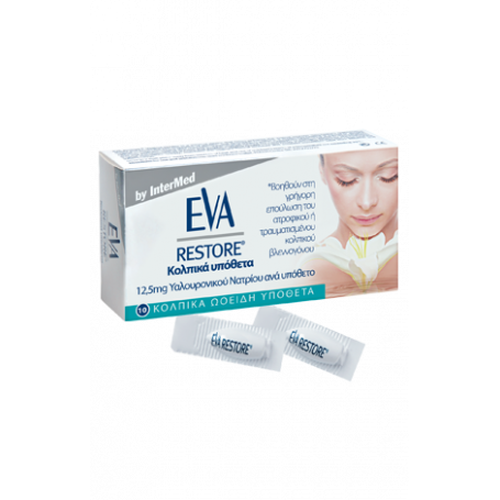 Intermed Eva Restore Ovules 10τμχ -pharmacystories