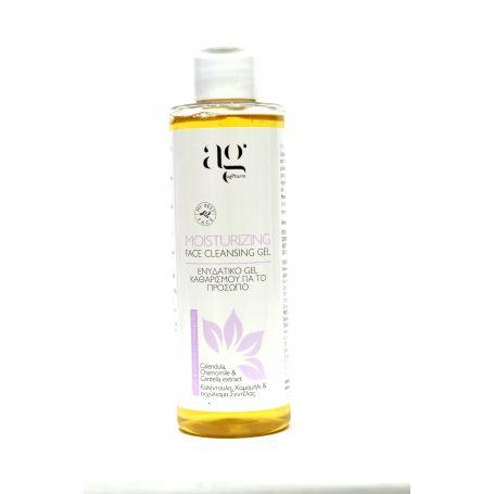 Ag Pharm Moisturizing Face Cleansing Gel with Calendula Chamomile & Centella Extract 200ml - Ag pharm