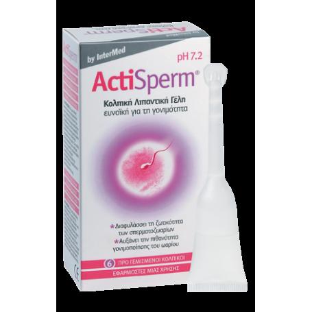 Intermed Actisperm 6τμχ-pharmacystories