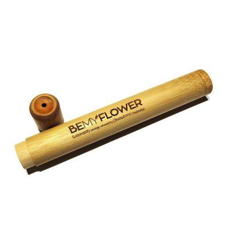 Bemyflower Θήκη Ταξιδιού Οδοντόβουρτσας από Βιοδιασπώμενο Μπαμπού 1τμχ - BeMyFlower