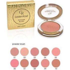 Golden Rose Powder Blush 05 Shimmer Rose - Golden Rose
