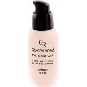 Golden Rose Satin Smoothing Fluid Foundation 22 SPF15 34ml -pharmacystories
