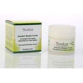 Sostar Focus Jasmine Beauty Cream Αντιγηραντική Κρέμα Προσώπου 50ml - Sostar