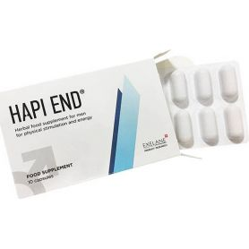 Hapi End Food Supplement 10 κάψουλες -pharmacystories -hapi end