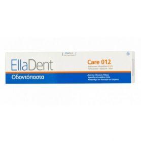 EllaDent Care 012 Οδοντόπαστα Κατά Της Οδοντικής Πλάκας Με Χλωρεξιδίνη 0,2% 75ml-pharmacystories