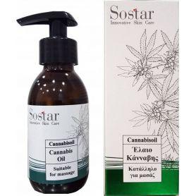 Sostar - Cannabisoil Έλαιο Κάνναβης - 125ml-Pharmacystories