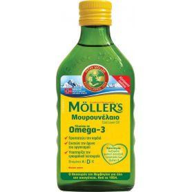 MOLLER'S Μουρουνέλαιο Φυσική Γεύση 250ml-pharmacystories