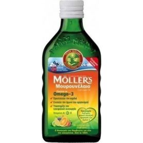 Moller's Μουρουνέλαιο Tutti Frutti 250ml-pharmacystories