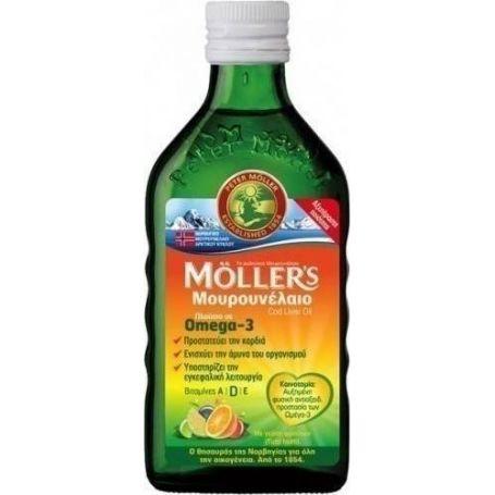Moller's Μουρουνέλαιο Tutti Frutti 250ml-pharmacystories