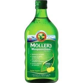 Moller's - Μουρουνέλαιο Γεύση Λεμόνι 250ml - Moller's