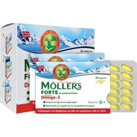 Moller's Forte Omega-3 150 κάψουλες -pharmacystories