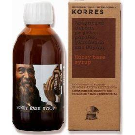 Korres Σιρόπι με Μέλι, Μάραθο, Γλυκάνισο και Θυμάρι 200ml - Korres