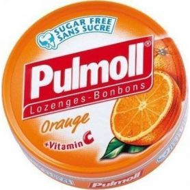 Pulmoll Vitamin C 50gr Πορτοκάλι - Pulmoll