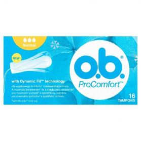 O.B. ProComfort Curved Grooves & SilkTouch Cover 16τμχ - O.B.