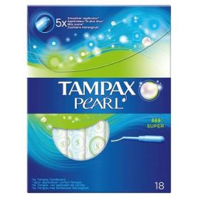 Tampax Pearl Super 18τμχ - Tampax