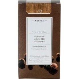 Korres Argan Oil Advanced Colorant 7.0 Ξανθό Φυσικό - Korres