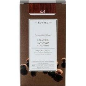 Korres Argan Oil Advanced Colorant 6.4 Ξανθό Σκούρο Χάλκινο -pharmacystories
