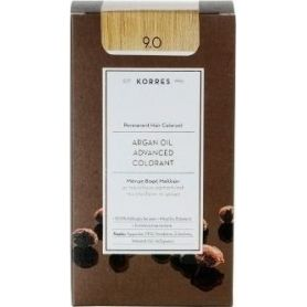 Korres Argan Oil Advanced Colorant 9.0 Κατάξανθο Φυσικό -pharmacystories