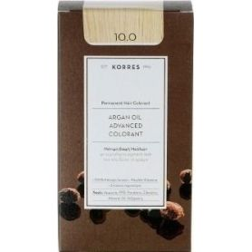 Korres Argan Oil Advanced Colorant 10.0 Ξανθό Πλατίνας Φυσικό - Korres