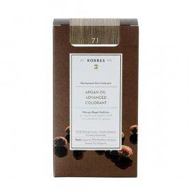 Korres Argan Oil Adnanced Colorant 7.1 Ξανθό Σαντρέ - Korres