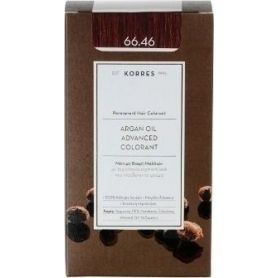 Korres Argan Oil Advanced Colorant 66.46 Έντονο Κόκκινο Βουργουνδίας-pharmacystories
