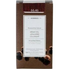 Korres Argan Oil Advanced Colorant 66.46 Έντονο Κόκκινο Βουργουνδίας - Korres