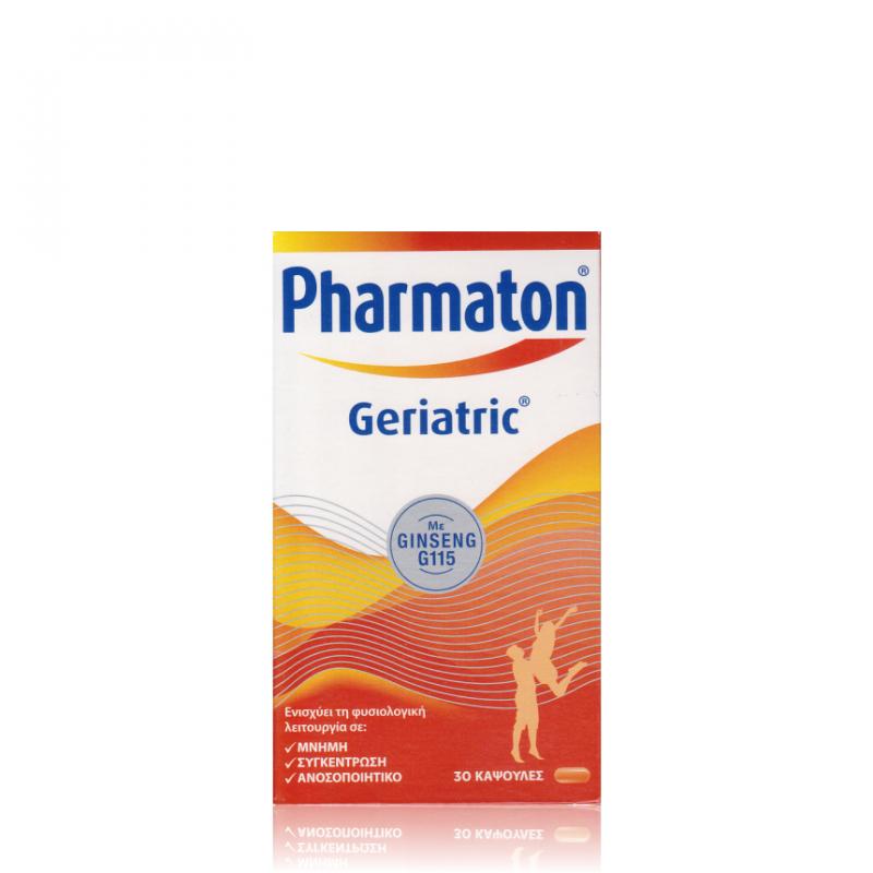 Pharmaton Geriatric με Ginseng G115 30 μαλακές κάψουλες - Boehringer Ingelheim