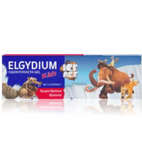 Elgydium Kids Ice Age Οδοντόκρεμα Με Γεύση Φράουλα 2-6 Ετών 50ml - Pierre Fabre