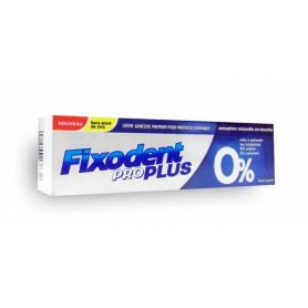 Fixodent Pro Plus 0%, Στερεωτική Κρέμα για τεχνητές Οδοντοστοιχίες 40gr-pharmacystories