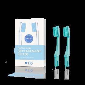 Ανταλλακτικά Οδοντόβουρτσας Πράσινη Medium (Green Medium) – TIO care - Tio Care