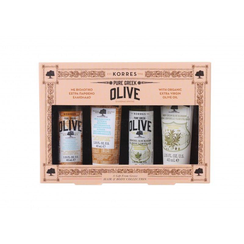 Korres Pure Greek Olive Hair & Body Collection - Korres