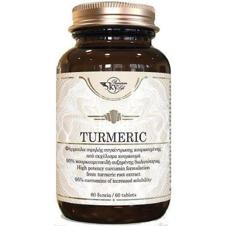 Sky Premium Life Turmeric 60 ταμπλέτες -pharmacystories