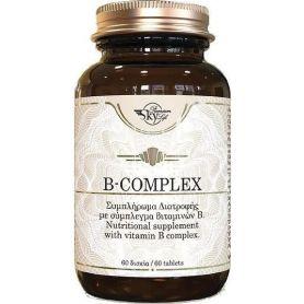 Sky Premium Life Vitamin B-Complex 60 ταμπλέτες -pharmacystories