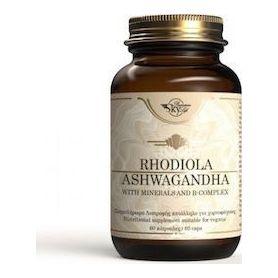 Sky Premium Life Rhodiola Ashwagandha 60 κάψουλες -pharmacystories