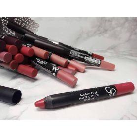 Golden Rose Matte Lipstick Crayon - Golden Rose