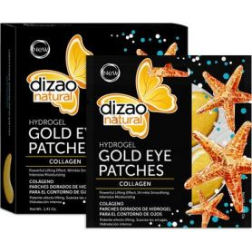 Dizao Natural Hydrogel Gold Eye Patches Collagen 5τμχ - Dizao Natural