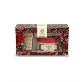 Super Siberica gift set (Super Siberica Krasnika, amaranth & arginine Μάσκα 300ml +Κρέμα 50ml)