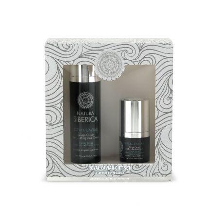 Royal Caviar gift set (Extra-Lifting Face Cream, 50 ml + Icy Firming Eye Cream, 15 ml)