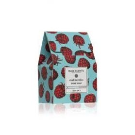 Blue Scents Soap Set Of 2 red berries, 2 x 135 gr-pharmacystories