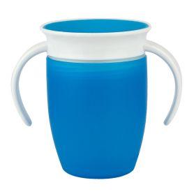 Munchkin Miracle 360 Degree Trainer Cup Κύπελλο με χερούλια 6m+ 207ml - Blue-pharmacystories